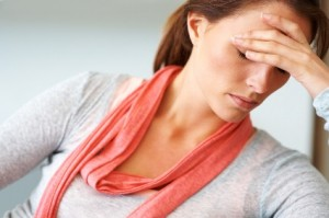 Headaches because of body stress